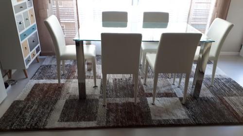 Trabajo hogaralfombra - decoracion de dos alfombras